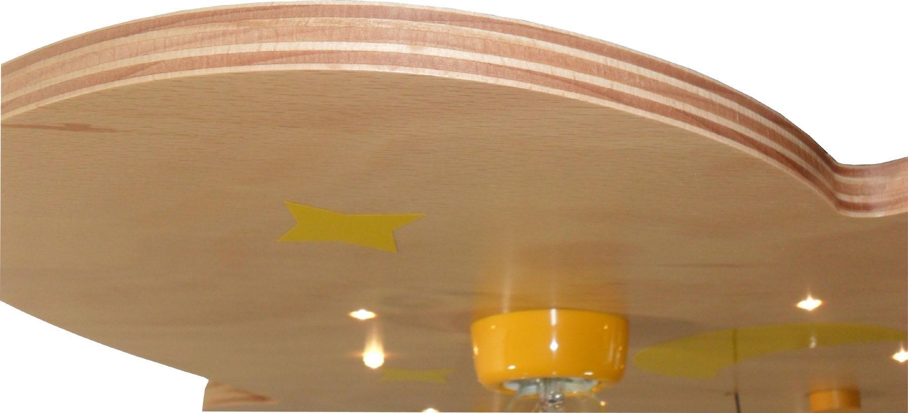 deckenlampe mit sternenhimmel effekt mit fernbedienung. Black Bedroom Furniture Sets. Home Design Ideas