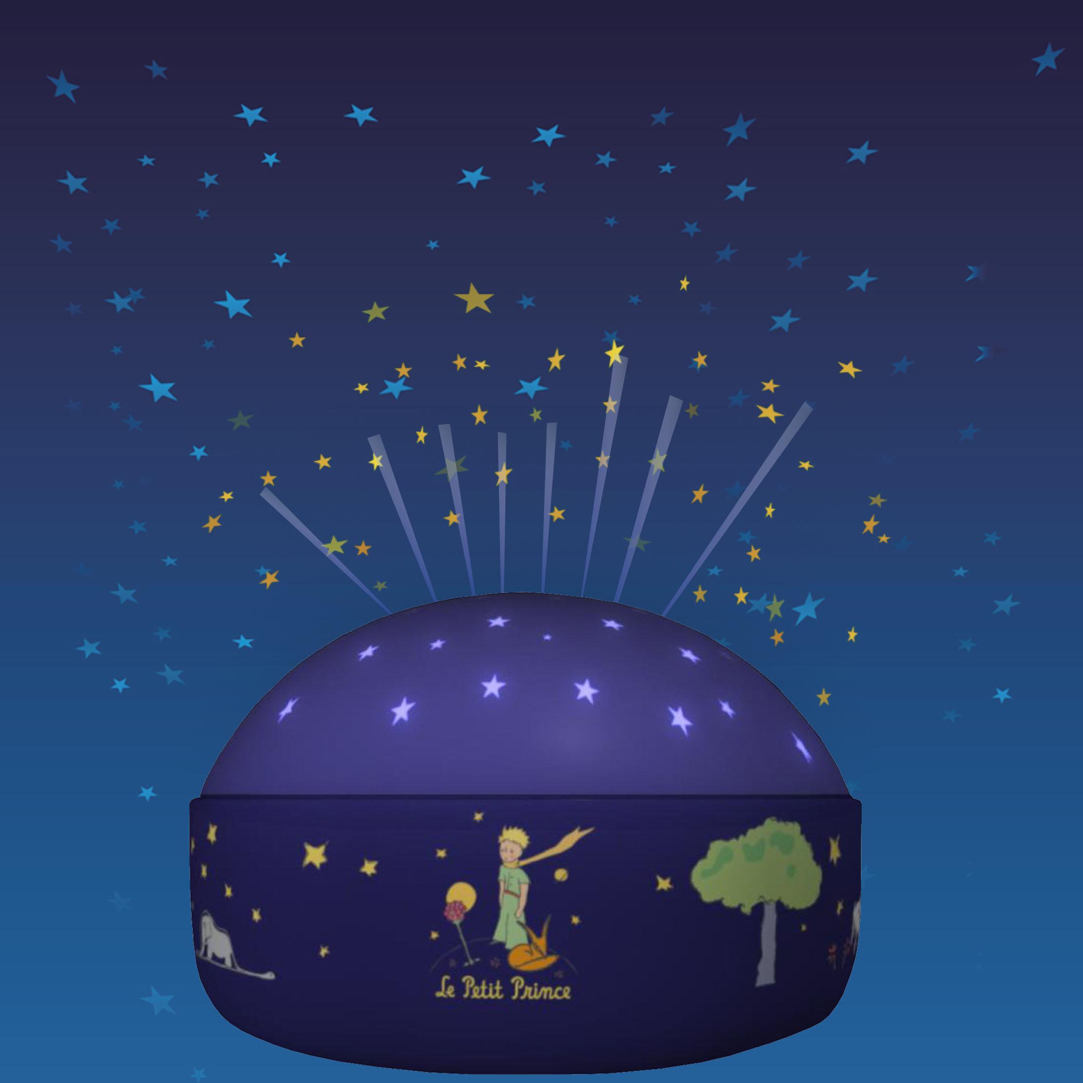 nachtlicht projektor kleiner prinz schlummerlampen im kinderlampenland kaufen. Black Bedroom Furniture Sets. Home Design Ideas