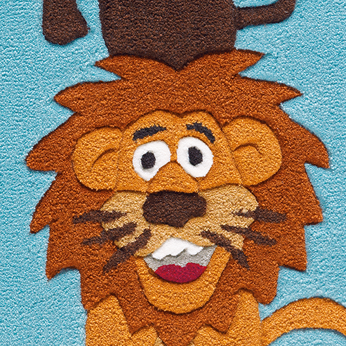 Arte Espina Kinderteppich Dschungelwelt  Kids im