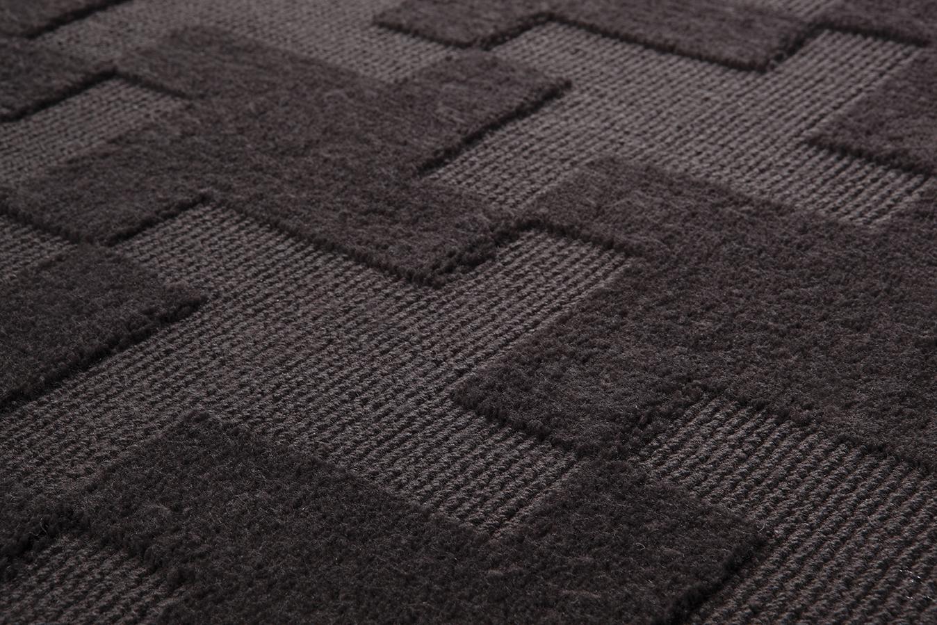 Esprit Teppich Craft grau  Esprit World Culture im
