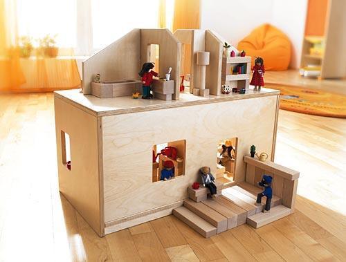haba sitzbank puppenstube 2664 haba kinderm bel im kinderlampenland kaufen. Black Bedroom Furniture Sets. Home Design Ideas