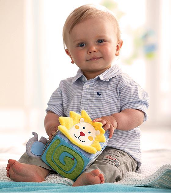 Haba spielwürfel egon babyspielzeug im