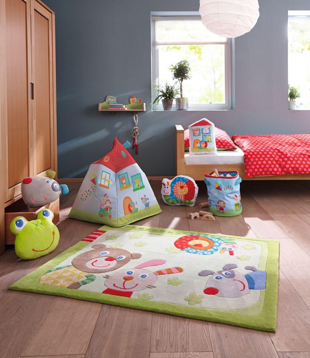 haba sitzsack kunterbunte freunde 301730 sitzs cke. Black Bedroom Furniture Sets. Home Design Ideas