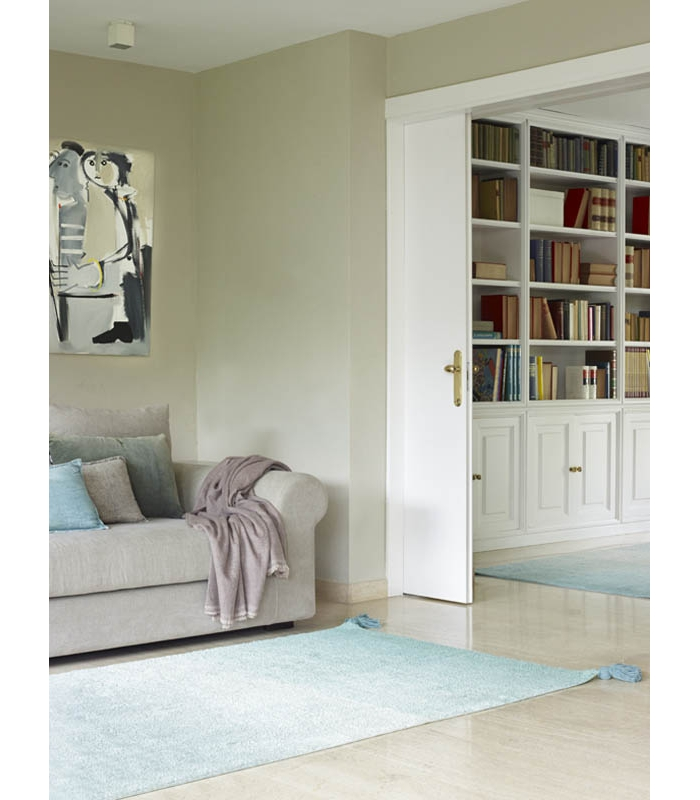 lorena canals teppich farbverlauf gr n hellgrau lorena. Black Bedroom Furniture Sets. Home Design Ideas