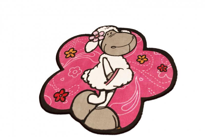 Nici Teppich Jolly Rosa im Kinderlampenland kaufen