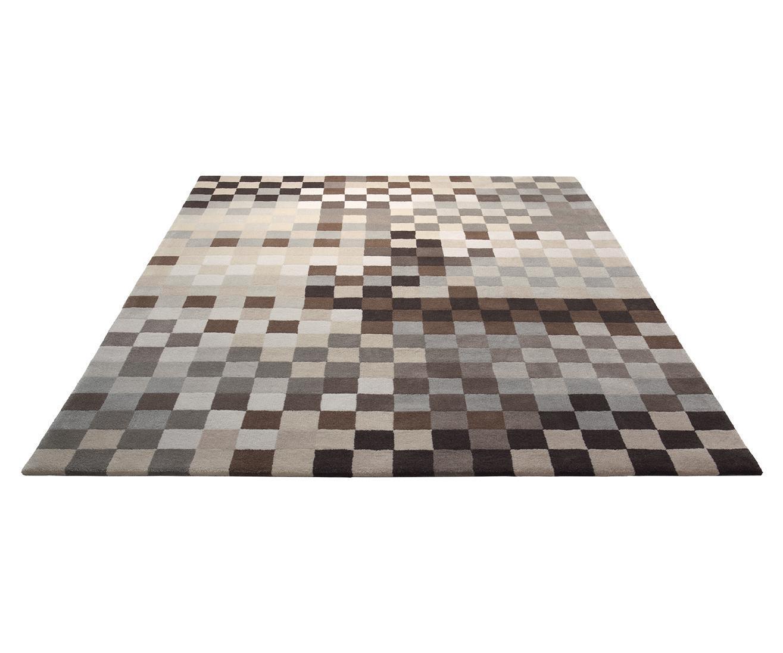 Esprit Teppich Pixel braun  Esprit World Culture im