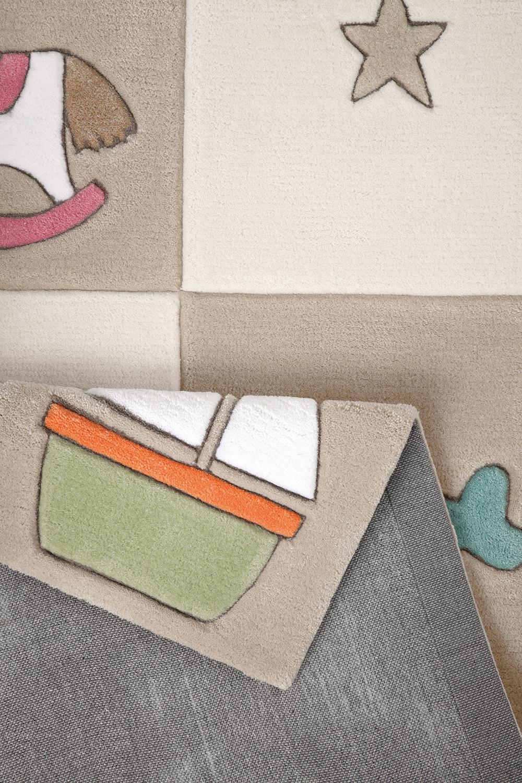 kinderteppich newborn beige smart kids im kinderlampenland kaufen. Black Bedroom Furniture Sets. Home Design Ideas