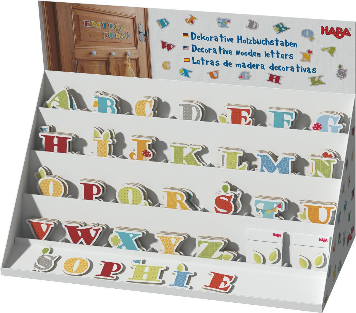 haba selection holzbuchstaben buchstabe kinderzimmerdekoration. Black Bedroom Furniture Sets. Home Design Ideas