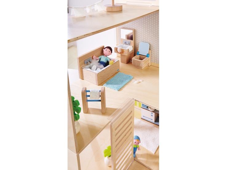 Haba little friends puppenhaus m bel badezimmer haba for Badezimmer neuheiten